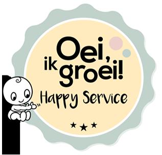 Oei ik groei Happy Service Award 2019
